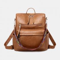 Women Large Capacity Multifunctional Shoulder Bag Backpack