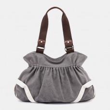 Women Vintage Simple Retro Canvas Bag Handbag Shoulder Bag