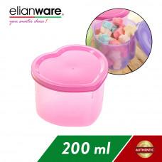 Elianware Heart Shape Multipurpose Container Multicolor BPA FREE