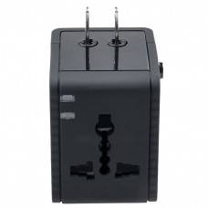 Travel Ac Adapter Power Plug Outlet With Usb Charger Uk Us A