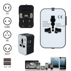 Universal Travel Ac Power Adapter Converter Charger W / Power