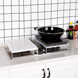 Multi-Function Kitchen Shelf Bracket Stove Cover Rice Cooker Oven Storage for Kitchen Arrangement