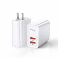 Baseus BS-CH906 30W Speedy Series PPS Dual USB Quick Charge USB Charger for iPhone 11 Pro XR X