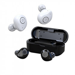 FMJ X6 TWS Mini bluetooth In-ear Earphone Wireless Stereo Waterproof Sports Headphone with Charging Case