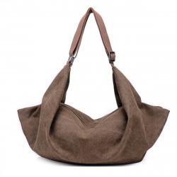 Women Multifunctional Canvas Backpack Shoulder Bag Travel Handbag Satchel Tote Purse