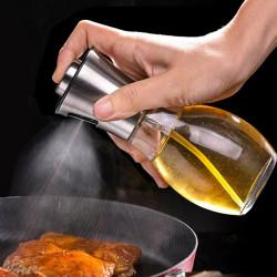 Olive Oil Sprayer Leak-Proof Oil Sprayer Vinegar Cooking Glass Bottles Dispenser Kitchen Cooking Baking BBQ Tool