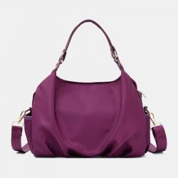 Women Large Capacity Waterproof Light Weight Handbag Shoulder Bag Crossbody Bag