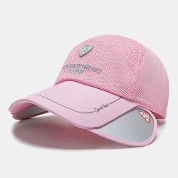 Summer Sun Hat Fishing Hat Mesh Breathable Baseball Cap