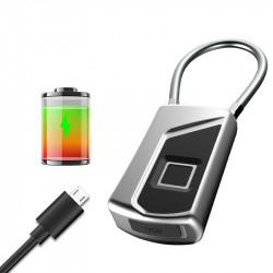 IPRee Smart Fingerprint Lock Anti Theft Door Lock USB Charging Waterproof Backpack Lock