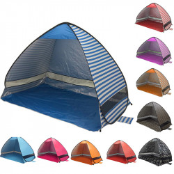 Outdoor PopUp Tent Ultralight Beach Tents Shelter UV-Protective Automatic Tent Shade