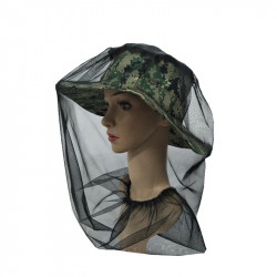 Insect-proof Mosquito Hat Fishing Sun Hat Breathable Shade Net Cover Hat Bucket Hat