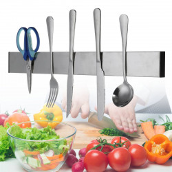 Stainless Steel Magnetic Kitchen Cutter Holder Wall Mounted Organizer