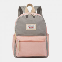Women Multi-Color Fashion Waterproof Large Capacity Backpack
