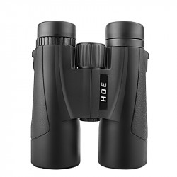 Moge 10x42 Tactical Binocular HD Optic Green Coated Film Lens Telescope Outdoor Camping Night Vision 155M/1000M