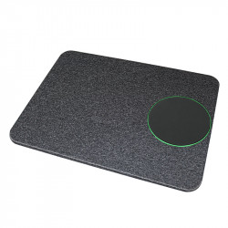 OJD-37 Wireless Fast Charger Charging Round Mouse Pad Mat for Samsung S10+ HUAWEI Xiaomi Redmi and Gaming Mouse