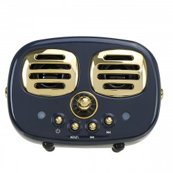 Mini Wireless Retro bluetooth Speaker 3D Stereo TF USB FM AUX Speaker Subwoofer Fashion Creative Gift