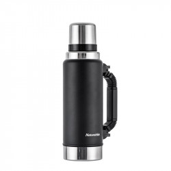 Naturehike NH19SJ011 1250/2200ml Stainless Steel Vacuum Cup Travel Camping Thermal Insulation Kettle Water Bottle