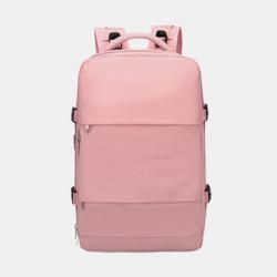 Women Nylon Large Capacity Multifunction Waterproof Casual Backpack