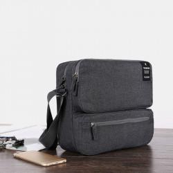 Multifunction Waterproof Earphone Charging Wire Portable Power Source Double Zippers Storage Bag