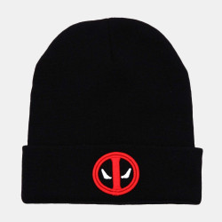 Knitted Wool Hat Embroidered Beanie Hat