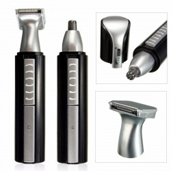 Electric Ear Nose Hair Trimmer for Men's Shaver Rechargeable Hair Removal Eyebrow Trimmer Safe Lasting Face Care Tool Kit