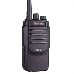 1PC ThinkYoung T888 8W Mini Ultra Thin Handheld Radio Walkie Talkie Interphone Hotel Civilian Intercom
