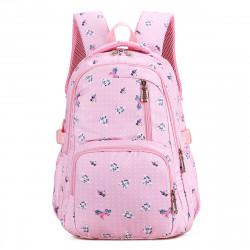 Women Large Capacity Waterproof Light Weight Backpack Student Shoulder Bag Rucksack School Bag