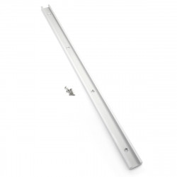 600mm Silver Aluminium Alloy T-tracks Miter Track Jig Fixture For Router Tools Kit