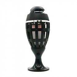 LED Flame Atmosphere Speaker Lamp Wireless bluetooth Speaker 2000mAh IP65 Waterproof Speaker