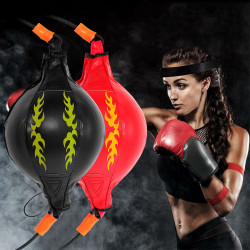 Double Thai Boxing Punching Bag Strength Muscle Training Fitness Exercise Tools