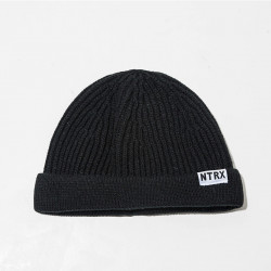 Men Women Solid Knitted Warm Beanie Caps Outdoors High Elastic Adjustable Skull Hat