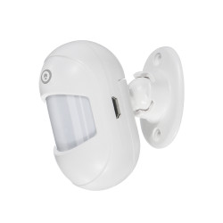 DIGOO DG-ZXP21 MINI 433MHZ Wireless Infrared Detection PIR Sensor With 360 degree Rotatable Base Compatible with HOSA HAMA Security Alarm System