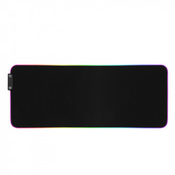 GMS-X5S  Dual Switch RGB Gaming Mouse Pad 14 Lighting Modes RGB Non-Slip Rubber Keyboard Mat