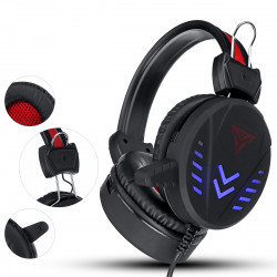 Bakeey 3.5mm Super Pass Gaming Headset Stereo LED Colorful Breathing Lamp Earphone Hifi Heavy Bass Game Headphone