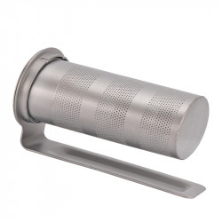 IPRee Outdoor Portable Pure Titanium Tea Filter Tea Infuser Built-in Tea Cup Leakage Tea Making Tools Teapot Accessories