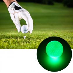 6 Pcs 1.6inch LED Golf Balls Dark Night Luminous Sports Ball