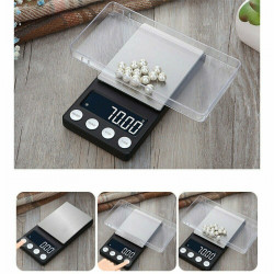 100g/0.01g Digital Milligram Scale High Precision Jewelry Balance Gram Weight