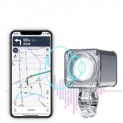 XANES STL17 Waterproof 15W 1200LM LED Smart Bike Light Voice Navigation Wireless 5.0 bluetooth Speaker Motorbike Light Electric Bicycle Light