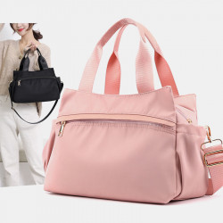 Women Light Weight Nylon Waterproof Bag Shoulder Bag Crossbody Bag