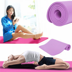 JAYCY 183x61x1cm Thicken Foldable Non-Slip Fitness Yoga Mats Home Sports Gym Pad