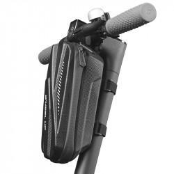 WHEELUP 2L/3L Electric Scooter Folding Bike Front Storage Bag EVA Hard Shell Waterproof Large Capacity Bicycle Bag