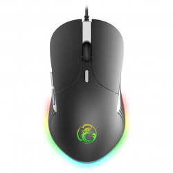 imice X6 USB Wired RGB Gaming Mouse High Configuration Computer Gamer Professional 6400DPI Version for Laptop PC Computer