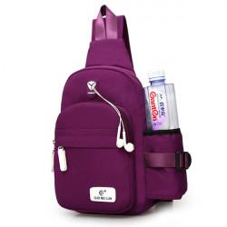 Women Nylon Crossbody Shoulder Chest Cycle Sling Bag Travel Backpack Hot
