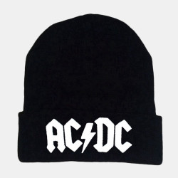 Unisex Letter Embroidered Casual Wild Knit Hat Beanie