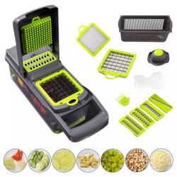 Multi-Function Vegetable Cutter with Steel Blade Mandoline Slicer Fruit Grater for Kitchen Kitchen Accessories