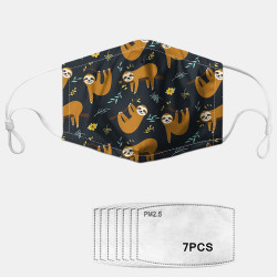 PM2.5 Gasket Anti-fog Washable Masks Cartoon Cute Animal Pattern Masks