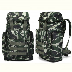 80L Multi-Color Large Capacity Waterproof Tactical Backpack Outdoor Travel Hiking Camping Bag