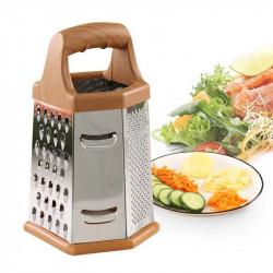 8/9 Inch 6-sided Stainless Steel Manual Vegetable Cutter for Strainer Kitchen Vegetable Slicer Dicer