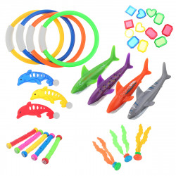 31PCS Kids Diving Toy Set Summer Underwater Sinking Swimming Pool Water Play Toys Set Gifts For Children