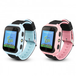 1.44in GPS Location Camera Kids Smart Watch Phone Waterproof Flashlight SOS Call Children Smart Wristband